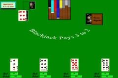 Computer blackjack odds