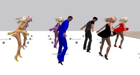 We Recently Redid This Dance And Added Improved Animations Also Much More Complex Sync Script Yet Kept The Same Low Price